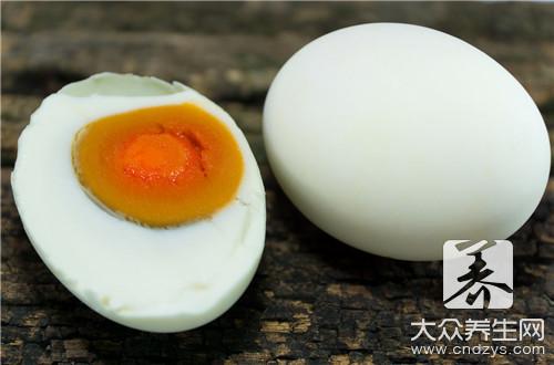 咸鸭蛋能多吃吗