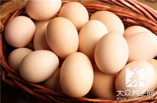 鸡蛋含糖量高吗