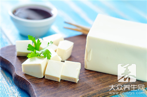 痛风病人能吃豆腐吗
