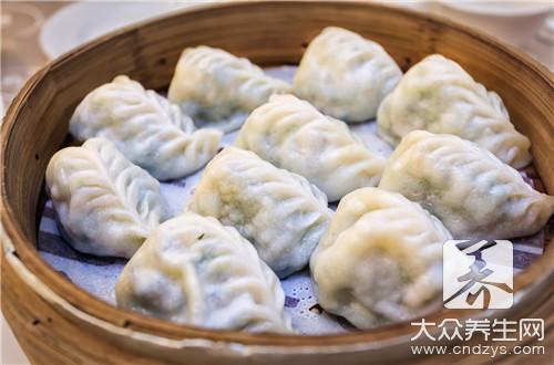 韭黄素饺子