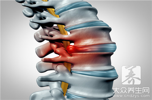 后脊椎骨有一节按着疼