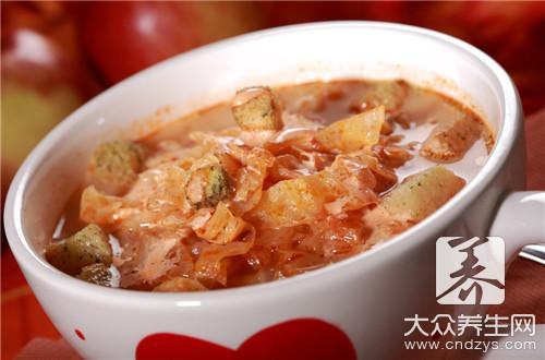 西红柿白菜汤