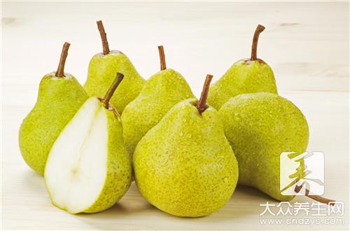 梨含有哪些维生素