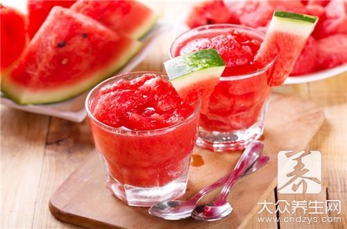 喝中药后能吃西瓜吗