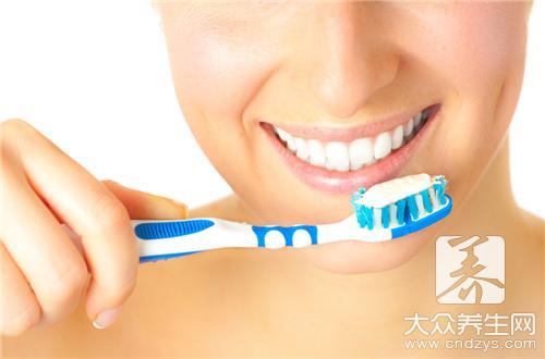 刷牙的正确姿势