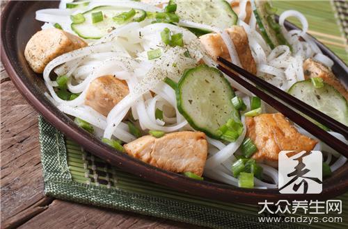 吃炒米粉会发胖吗