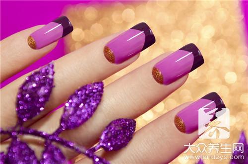 手指颜色发紫