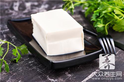 豆腐怎么切块不粘刀?-第3张