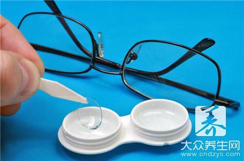 戴隐形眼镜眼睛胀痛-第1张