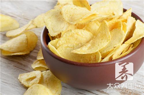 薯片脂肪含量