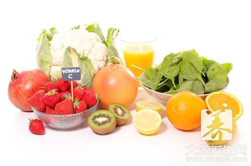 水果维生素含量表