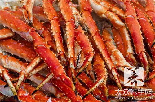 螃蟹是高蛋白食物吗