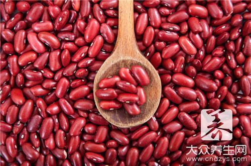 赤小豆炒熟的功效