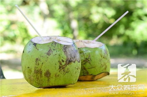 来例假可以喝椰子汁吗-