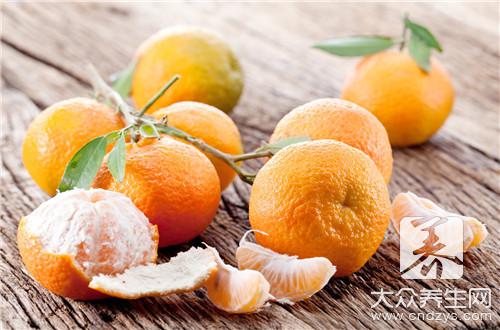 蜜橘上火吗