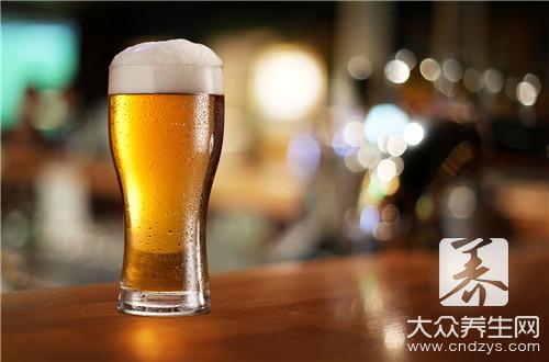 有伤口能喝啤酒吗