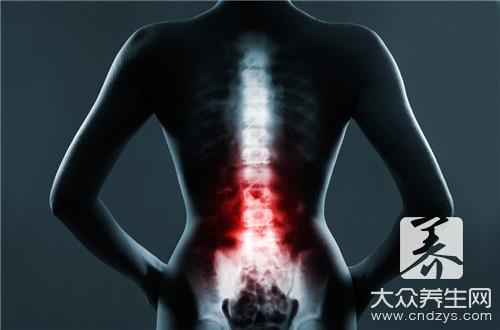 腰椎骨结核右侧腿窝疼