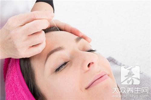 针灸头部有什么作用?