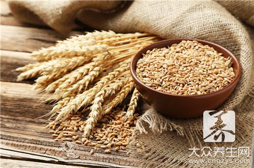 小麦泡水喝有什么功效