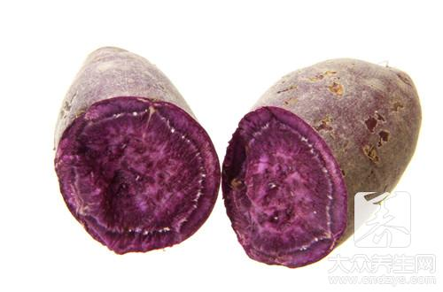 紫薯牛奶汁