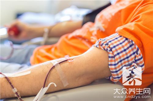 献血可以延缓衰老